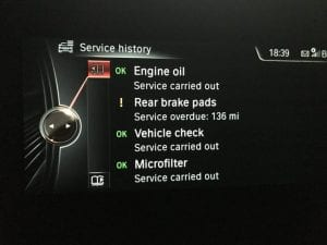 BMW iDrive Service History - how it works & how to modify it