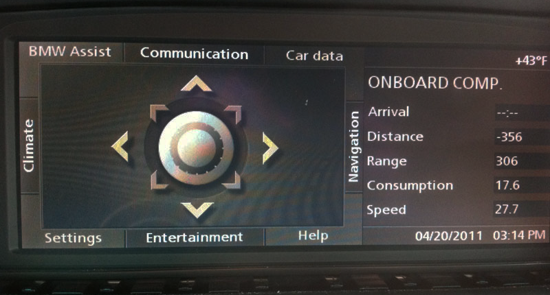 1st Generation BMW iDrive NAVI02