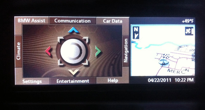 1st Generation BMW iDrive NAVI03