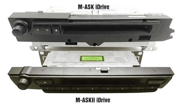 BMW M-ASK vs M-ASKII iDrive