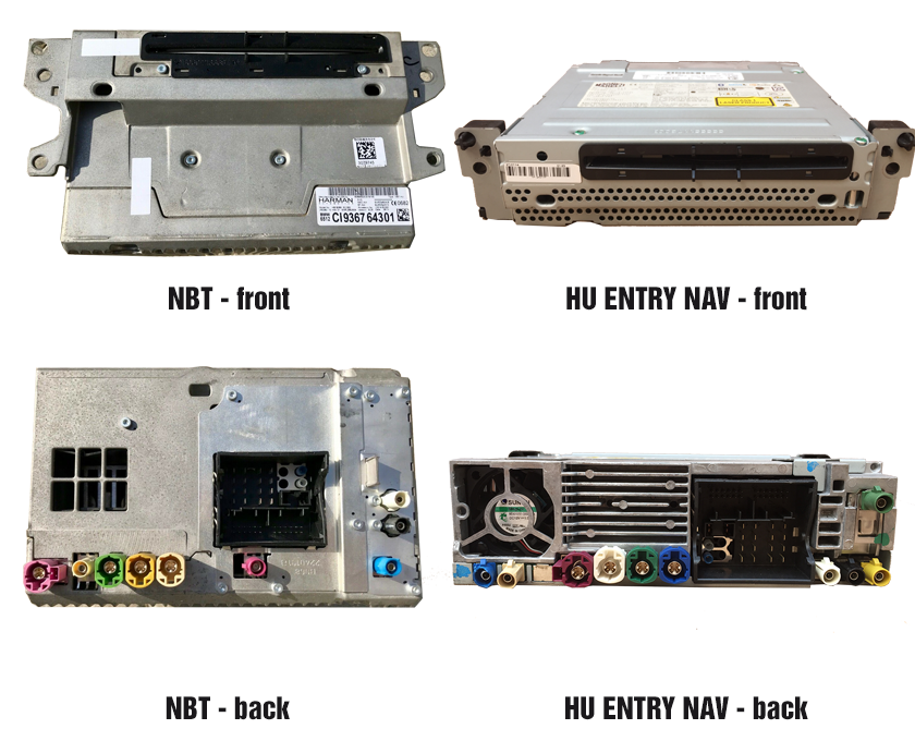 NBT iDrive vs HU ENTRY NAV
