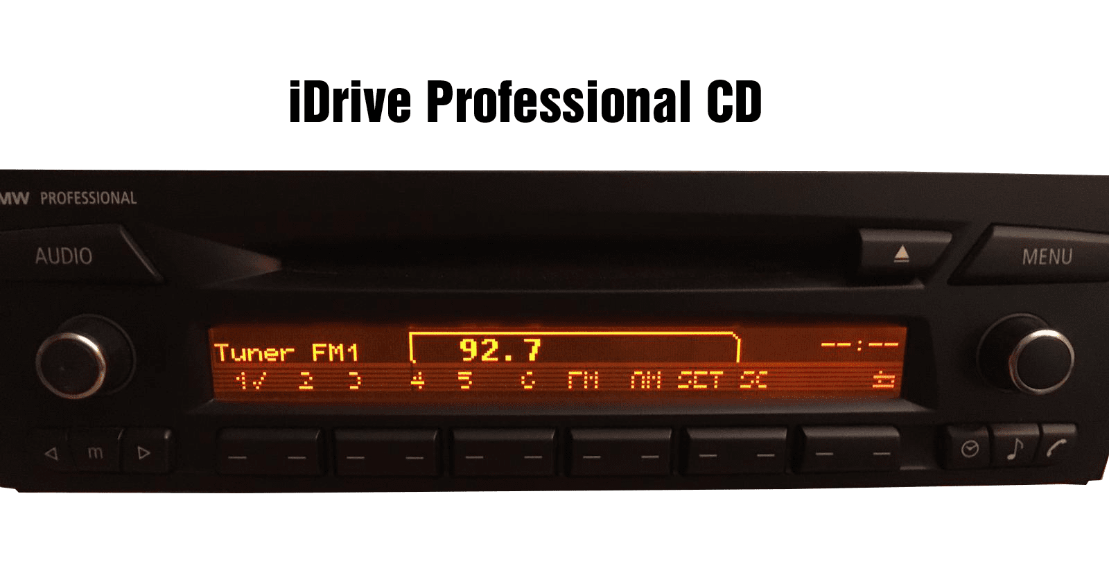 iDrive BMW Professional CD