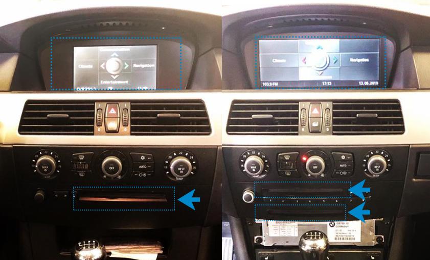 iDrive MASK vs CCC display