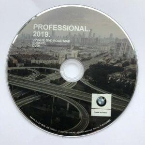 BMW Professional maps DVD 2019